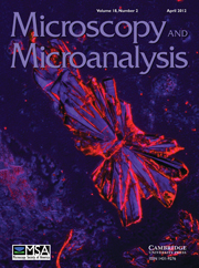 Microscopy and Microanalysis Volume 18 - Issue 2 -
