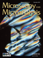 Microscopy and Microanalysis Volume 18 - Issue 6 -