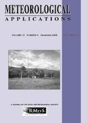 Meteorological Applications Volume 13 - Issue 4 -