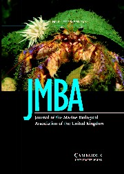 Journal of the Marine Biological Association of the United Kingdom Volume 85 - Issue 6 -