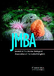 Journal of the Marine Biological Association of the United Kingdom Volume 86 - Issue 1 -