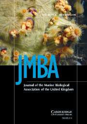 Journal of the Marine Biological Association of the United Kingdom Volume 86 - Issue 6 -
