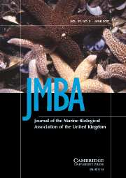 Journal of the Marine Biological Association of the United Kingdom Volume 87 - Issue 3 -