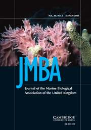 Journal of the Marine Biological Association of the United Kingdom Volume 88 - Issue 2 -