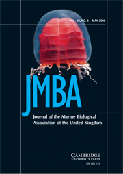 Journal of the Marine Biological Association of the United Kingdom Volume 88 - Issue 3 -
