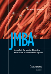 Journal of the Marine Biological Association of the United Kingdom Volume 89 - Issue 2 -