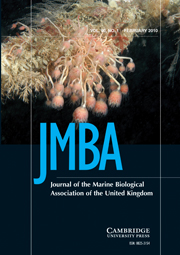 Journal of the Marine Biological Association of the United Kingdom Volume 90 - Issue 1 -