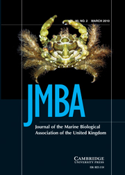Journal of the Marine Biological Association of the United Kingdom Volume 90 - Issue 2 -