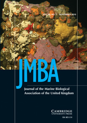 Journal of the Marine Biological Association of the United Kingdom Volume 90 - Issue 7 -