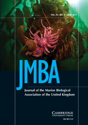 Journal of the Marine Biological Association of the United Kingdom Volume 91 - Issue 3 -