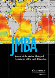 Journal of the Marine Biological Association of the United Kingdom Volume 92 - Issue 7 -
