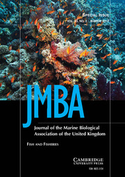 Journal of the Marine Biological Association of the United Kingdom Volume 93 - Issue 2 -  Fish and Fisheries