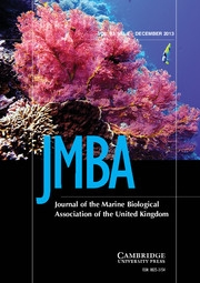 Journal of the Marine Biological Association of the United Kingdom Volume 93 - Issue 8 -