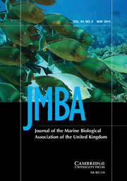 Journal of the Marine Biological Association of the United Kingdom Volume 94 - Issue 3 -