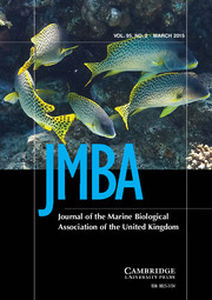 Journal of the Marine Biological Association of the United Kingdom Volume 95 - Issue 2 -