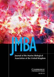 Journal of the Marine Biological Association of the United Kingdom Volume 95 - Issue 4 -