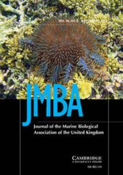 Journal of the Marine Biological Association of the United Kingdom Volume 95 - Issue 6 -