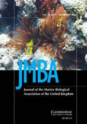 Journal of the Marine Biological Association of the United Kingdom Volume 96 - Issue 7 -