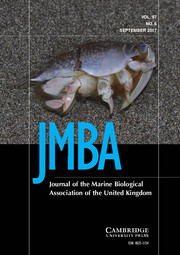 Journal of the Marine Biological Association of the United Kingdom Volume 97 - Issue 6 -
