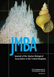 Journal of the Marine Biological Association of the United Kingdom Volume 98 - Issue 3 -