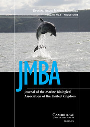 Journal of the Marine Biological Association of the United Kingdom Volume 98 - Special Issue5 -  Marine Mammals
