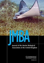 Journal of the Marine Biological Association of the United Kingdom Volume 99 - Issue 3 -