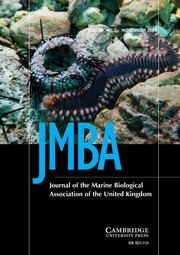 Journal of the Marine Biological Association of the United Kingdom Volume 99 - Issue 7 -