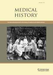 Medical History Volume 56 - Issue 3 -