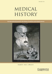 Medical History Volume 57 - Issue 2 -