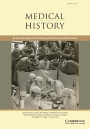 Medical History Volume 59 - Issue 3 -  Skill in the History of Medicine and Science