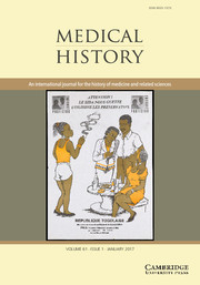 Medical History Volume 61 - Issue 1 -