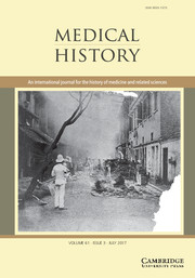 Medical History Volume 61 - Issue 3 -