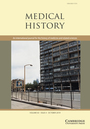Medical History Volume 63 - Issue 4 -