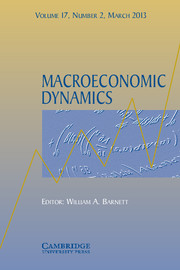 Macroeconomic Dynamics Volume 17 - Issue 2 -