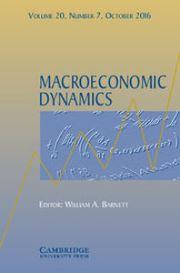 Macroeconomic Dynamics Volume 20 - Issue 7 -