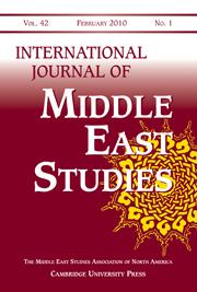 International Journal of Middle East Studies Volume 42 - Issue 1 -