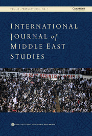International Journal of Middle East Studies Volume 45 - Issue 1 -