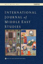 International Journal of Middle East Studies Volume 47 - Issue 2 -