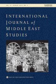 International Journal of Middle East Studies Volume 47 - Issue 3 -