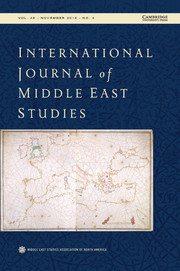 International Journal of Middle East Studies Volume 48 - Issue 4 -