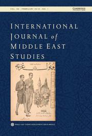 International Journal of Middle East Studies Volume 50 - Issue 1 -