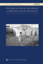 International Journal of Middle East Studies Volume 51 - Issue 3 -