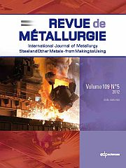 Metallurgical Research & Technology Volume 109 - Issue 5 -  Social Value of Materials