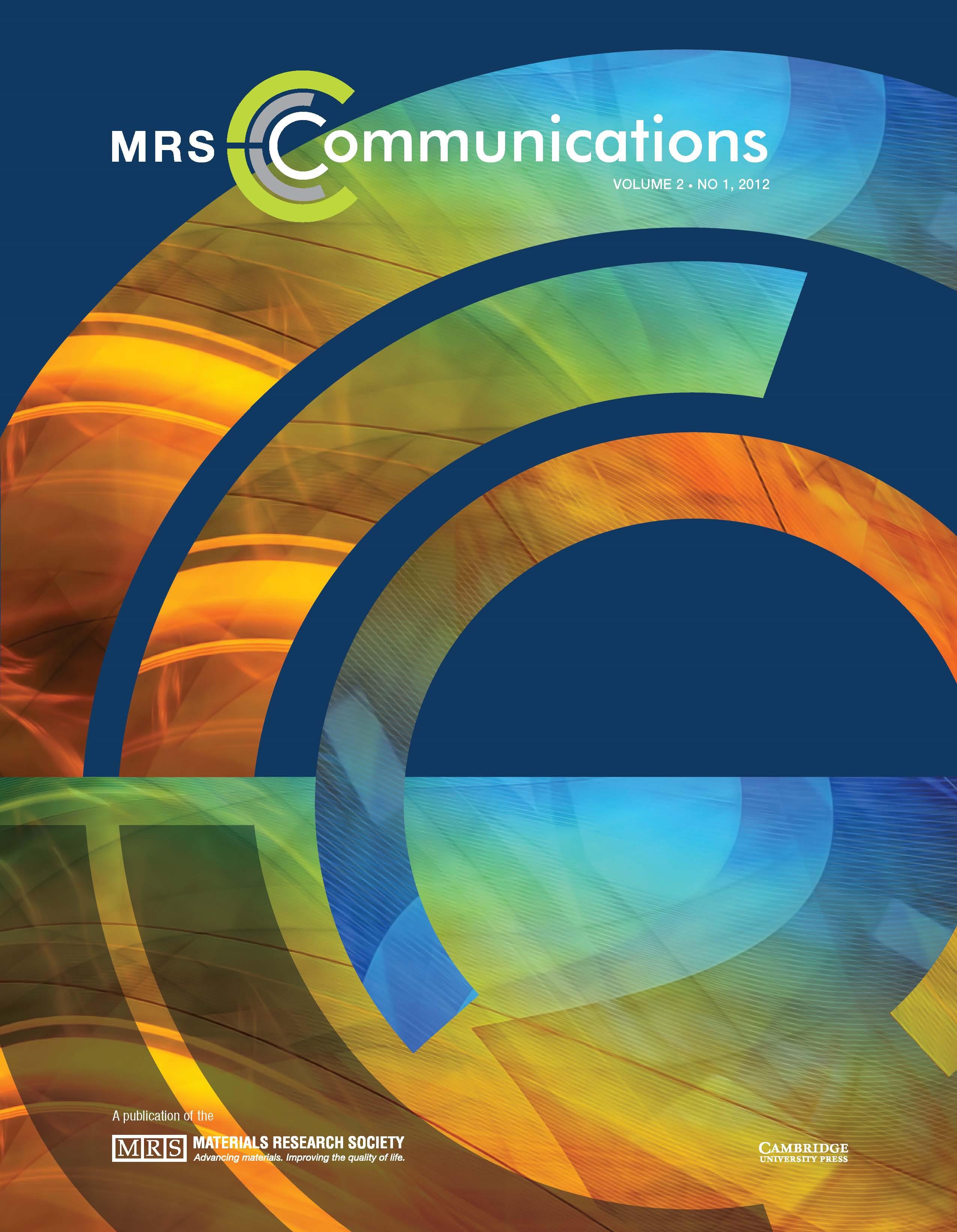 MRS Communications Volume 2 - Issue 1 -