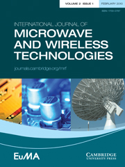 International Journal of Microwave and Wireless Technologies Volume 2 - Issue 1 -
