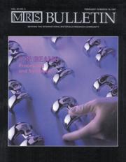 MRS Bulletin Volume 12 - Issue 2 -