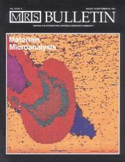 MRS Bulletin Volume 12 - Issue 6 -