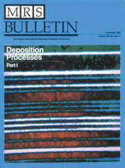 MRS Bulletin Volume 13 - Issue 11 -