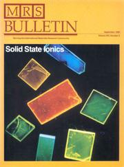 MRS Bulletin Volume 14 - Issue 9 -