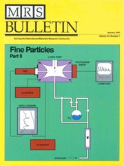 MRS Bulletin Volume 15 - Issue 1 -